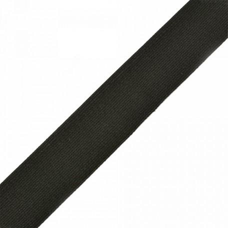 Резинка тканая шир.035мм цв.черный арт.Б.РТ.35.ЧЕР уп.20м А