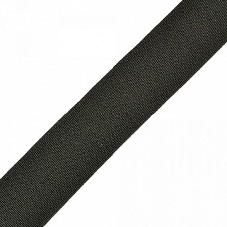 Резинка тканая шир.035мм цв.черный арт.Ф-35мм упак.25м