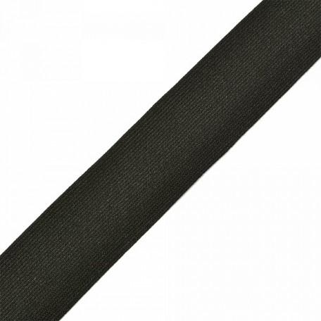 Резинка тканая шир.040мм цв.черный арт.Б.РТ.40.ЧЕР уп.20м А