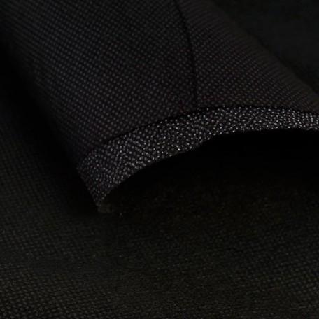 Флизелин Intex арт.9116 точечный 60 г/м шир.90см цв.черный рул.100м