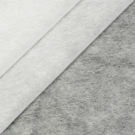 Флизелин Textra арт.8025 WH точечный 80%нейлон 20%ПЭ 25гр/м2 шир.90см цв.белый