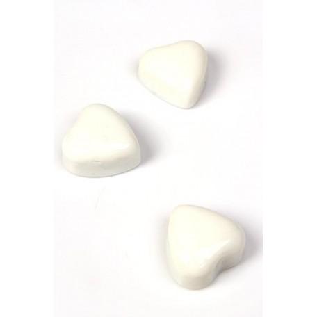 Аксессуары акриловые арт.ГС.STD.509/01-00 сердца белые бол. 300 гр.