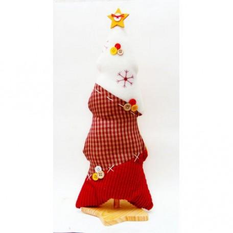 EN.15519 Новогоднее настольное украшение 'Рождественская елка со звездой' 41см