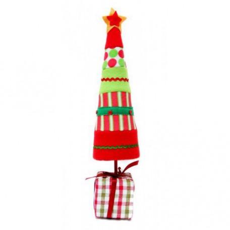 EN.25554 Новогоднее настольное украшение 'Елка' 11,4x11,4x45,7см
