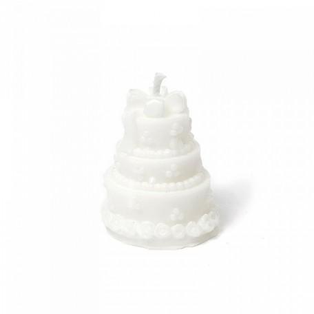 EN.29276 Декоративная свеча из парафинового воска 6х6х6см
