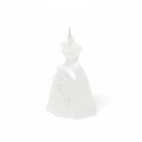 EN.29277 Декоративная свеча из парафинового воска 4х6,5см