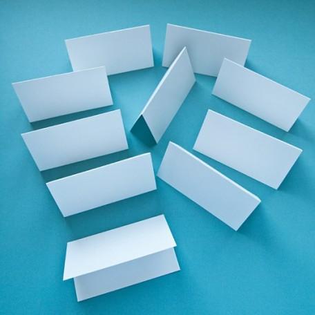 Карточки рассадочные арт. ЛО-РК1001 цв.белый 'Лён' 5х9 см уп.10шт