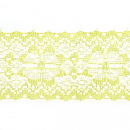 Кружево-трикотаж арт.7с1-г10 шир.50мм цв.желтый уп.50м