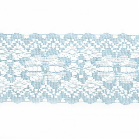 Кружево-трикотаж арт.7с1-г10 шир.50мм цв.голубой уп.50м