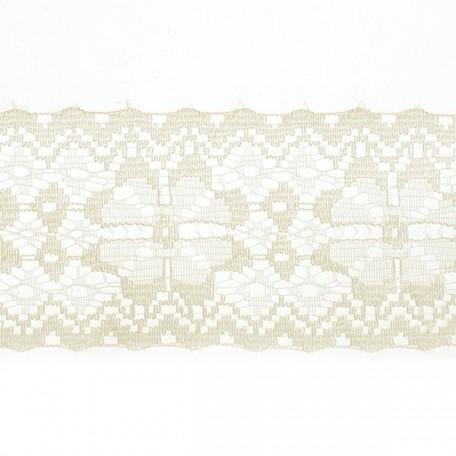 Кружево-трикотаж арт.7с1-г10 шир.50мм цв.кремовый уп.50м