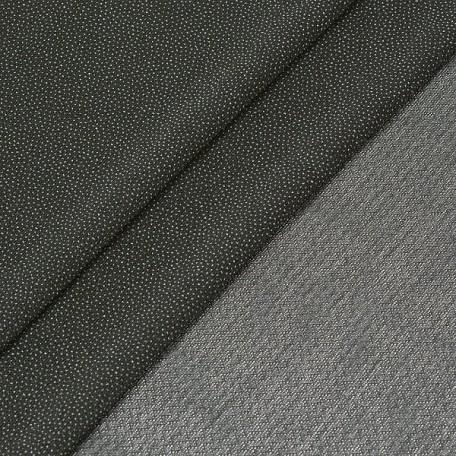 Дублерин арт.S-9.J760F эластичный шир.150см цв.черный 60 г/м2