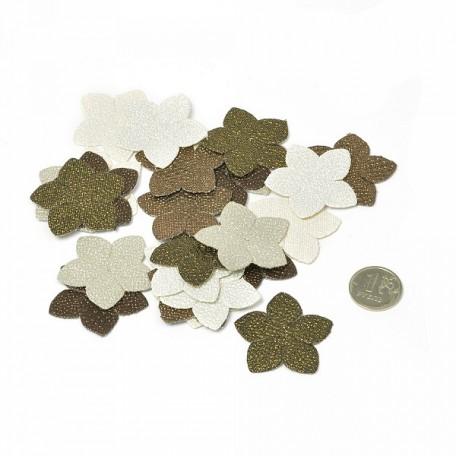 Бумажные цветы Brillare арт.575472 3,8 см 24 шт Благодатные