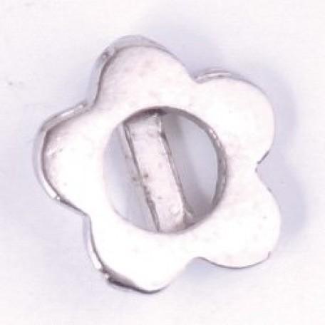 Декоративное украшение металлическое арт.МТ/1313 шир.05мм цв.никель