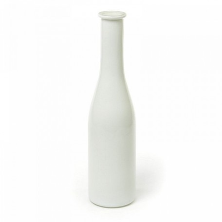 Ваза Бутылочка арт.ZA.A01120005WH 6,5х25,5см цв.белый