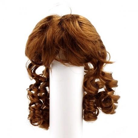 Волосы для кукол арт.КЛ.20540 П80 (локоны) цв.К