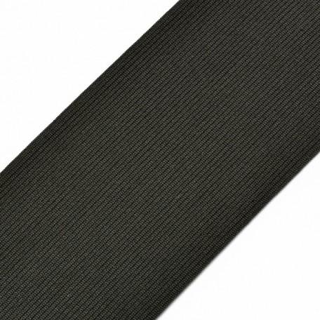 Резинка вязаная арт.ТВ-100мм цв. черный упак.40м