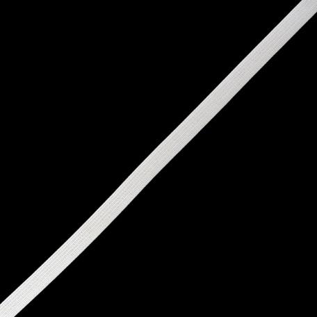 Резинка вязаная арт.ТВ-10мм цв.белый упак.100м