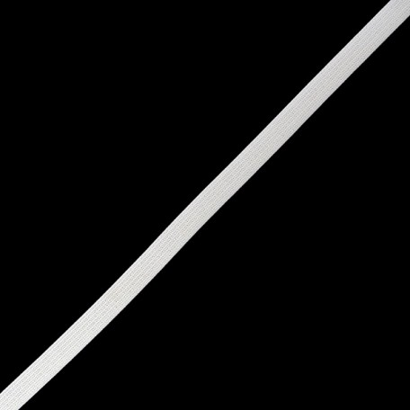 Резинка вязаная арт.ТВ-10мм цв.белый упак.200м A