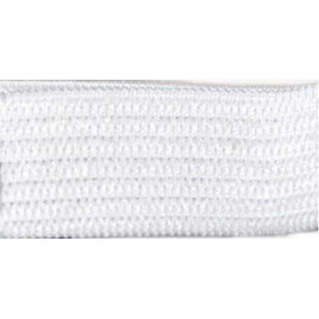 Резинка вязаная арт.ТВ-15мм цв.белый упак.40м