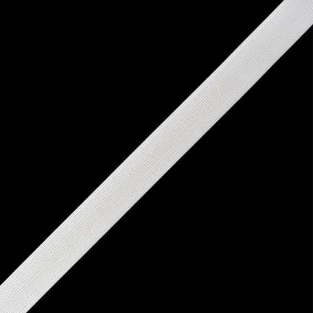 Резинка вязаная арт.ТВ-20мм цв.белый упак.40м