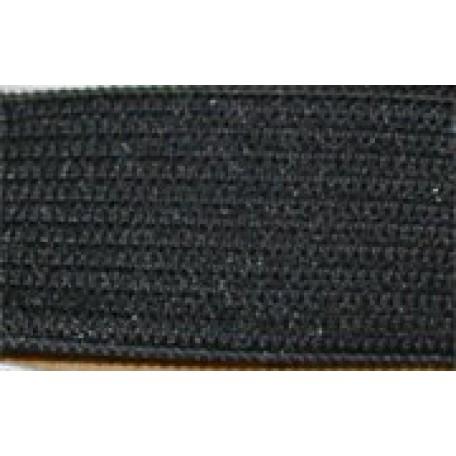 Резинка вязаная арт.ТВ-25мм цв.черный упак.40м A