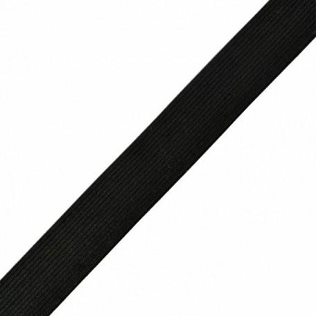 Резинка вязаная арт.ТВ-30мм цв.черный упак.40м