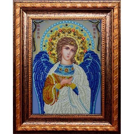 Набор для вышивания бисером 'ВЫШИВАЕМ БИСЕРОМ' арт.A10 Ангел хранитель 20х27 см