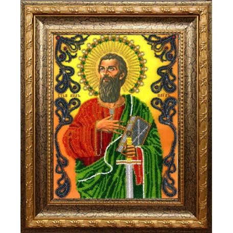 Набор для вышивания бисером 'ВЫШИВАЕМ БИСЕРОМ' арт.A21 Святой Апостол Павел 19х25,5 см