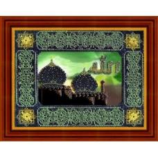 Набор для вышивания Вышивальная мозаика арт. 002РВ.Мечеть.Набор д/выш.бисером 21х16см