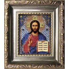 Набор для вышивания Вышивальная мозаика арт. 007ПИ.Спас Вседержитель (путная) 6х7см