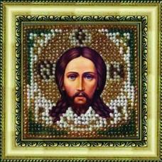 Набор для вышивания Вышивальная мозаика арт. 008ПМИ.Спас Нерукотворный 6,5х6,5см