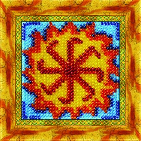 Набор для вышивания Вышивальная мозаика арт. 0166СО.Славянский оберег 'Коловрат'