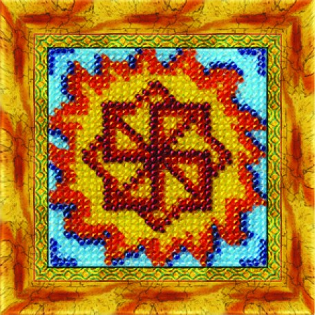 Набор для вышивания Вышивальная мозаика арт. 0167СО.Славянский оберег 'Молвинец'