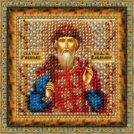 Набор для вышивания Вышивальная мозаика арт. 023ПМИ.Св.Равноап.Князь Владимир 6,5х6,5см