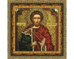 Набор для вышивания Вышивальная мозаика арт. 122ПМИ.Свмч.Валерий Мелитинский 6,5х6,5см