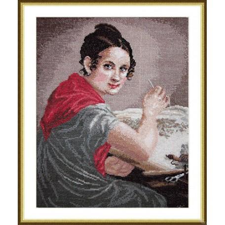 Набор для вышивания арт.ВЫШ -К-01 'Золотошвейка' 26,5x34 см