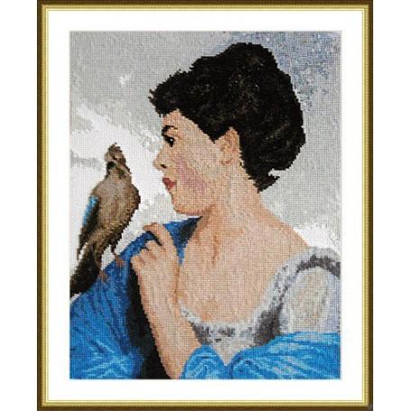 Набор для вышивания арт.ВЫШ -К-09 'Доверие природы' 23x29 см