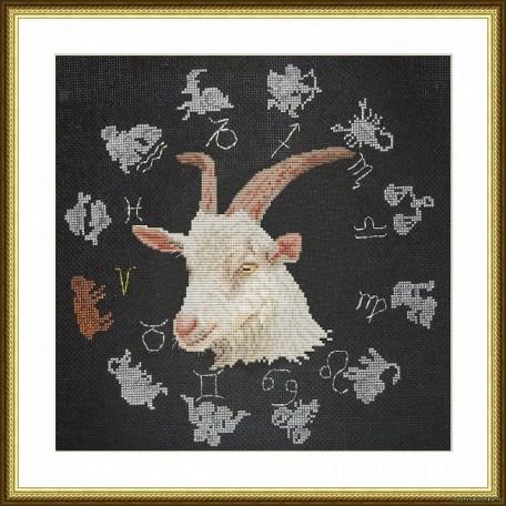Набор для вышивания арт.ВЫШ -ВГ-10 'Год козы' 27x27 см