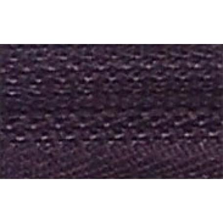 Молния пласт. юбочная с кордом №3 18см цв.190 фиолетовый