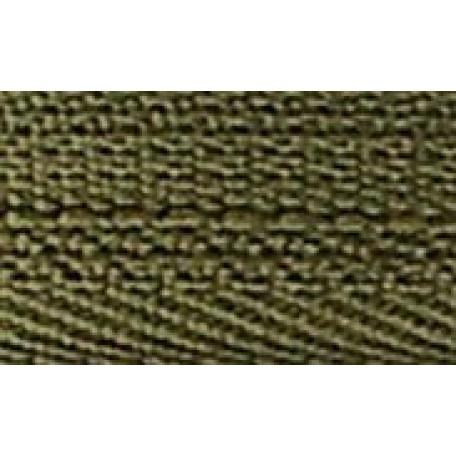 Молния пласт. юбочная с кордом №3 18см цв.256 зеленый