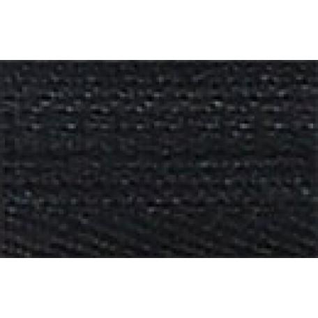 Молния пласт. юбочная с кордом №3 18см цв. 322/310 черный