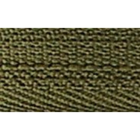 Молния пласт. юбочная с кордом №3, 20см, цв. 256 зеленый