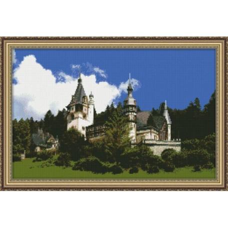 Набор для вышивания 'Юнона' арт.0102 'Замок' 37х24см