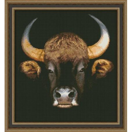 Набор для вышивания 'Юнона' арт.0105 'Буйвол' 31,5х34см