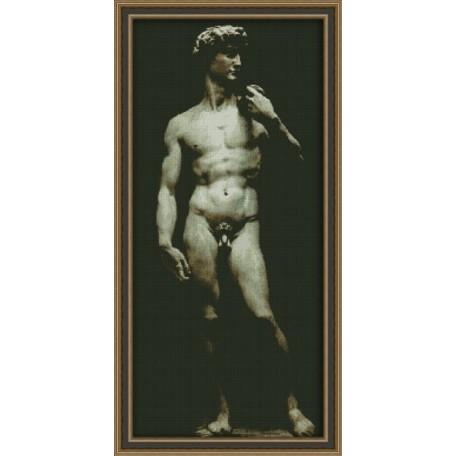 Набор для вышивания 'Юнона' арт.0109 'Давид ' 26х56,5см