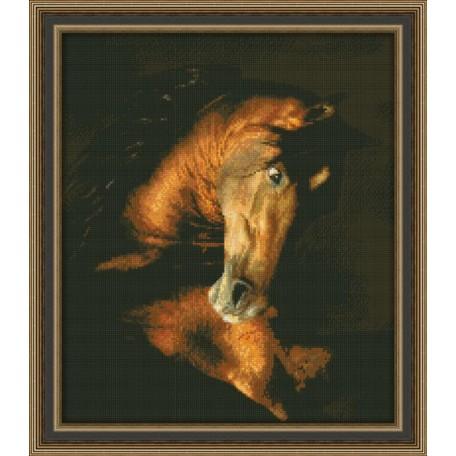 Набор для вышивания 'Юнона' арт.0112 'Мустанг' 27х32см