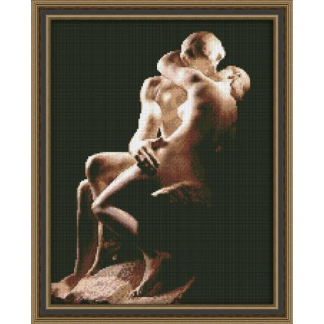 Набор для вышивания 'Юнона' арт.0117 'Поцелуй' 24,5х32,5см