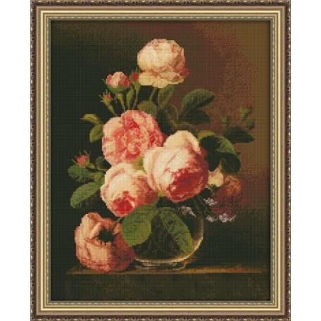 Набор для вышивания 'Юнона' арт.0120 'Розы' 26х33см