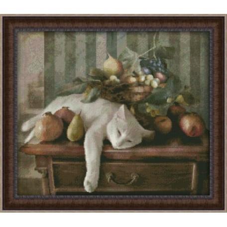 Набор для вышивания 'Юнона' арт.0123 'Сладкий сон' 35х30см