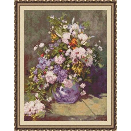 Набор для вышивания 'Юнона' арт.0205 'Весенний букет' 30х40см